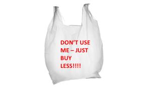 Disposable bag blunder